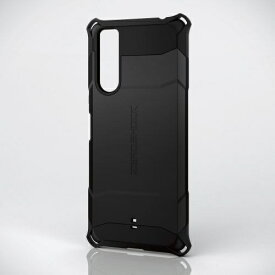 エレコム ELECOM Xperia 5 II ハイブリッドケース ZEROSHOCK ブラック PM-X203ZEROBK