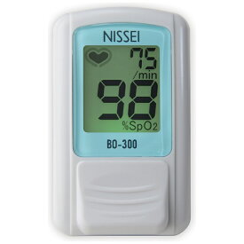 日本精密測器 NISSEI 【日本製】パルスオキシメータ BO-300 ブルー