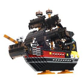 カワダ KAWADA ナノブロック NB-050 海賊船 デラックスエディション