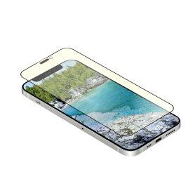 OWLTECH オウルテック iPhone 12 mini 5.4インチ対応 貼りミスゼロ トリプルストロング耐衝撃ガラス 光沢・ブルーライトカット