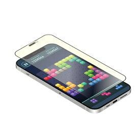 OWLTECH オウルテック iPhone 12 mini 5.4インチ対応 貼りミスゼロ トリプルストロング耐衝撃ガラス マット・ブルーライトカット