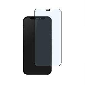 OWLTECH オウルテック iPhone 12/12 Pro 6.1インチ対応 貼りミスゼロ全面保護ガラス マット・ブルーライトカット