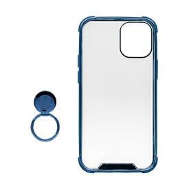 OWLTECH オウルテック iPhone 12 mini 5.4インチ対応 リング付ハイブリッド耐衝撃ケース