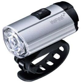 INFINI ヘッドライト トロン 300 I-281P ホワイトLED(57x32x25mm/シルバー) LPF1760100000