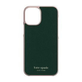 ケイト・スペード ニューヨーク kate spade new york iPhone 12 mini 5.4インチ対応 KSNY Wrap Case グリーン KSIPH-163-GRPNK