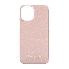 ケイト・スペード ニューヨーク kate spade new york iPhone 12 mini 5.4インチ対応 KSNY Wrap Case ペール KSIPH-163-CHPVM