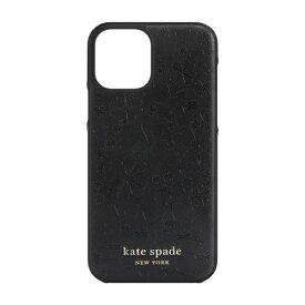 ケイト・スペード ニューヨーク kate spade new york iPhone 12/12 Pro 6.1インチ対応 KSNY Wrap Case ブラック KSIPH-165-CHBLK