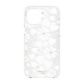 ケイト・スペード ニューヨーク kate spade new york iPhone 12 Pro Max 6.7インチ対応KSNY Protective Hardshell Case クローバー KSIPH-154-CHKNW