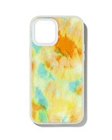 Sonix ソニックス iPhone 12 mini 5.4インチ対応 AntiMicrobial Clear Coat オレンジ 296-0307-0011