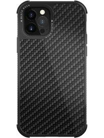 BLACKROCK ブラックロック iPhone 12/12 Pro 6.1インチ対応 Robust Case Real Carbon ブラック 1130RRC02