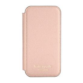 ケイト・スペード ニューヨーク kate spade new york iPhone 12 mini 5.4インチ対応 KSNY Folio Case ペール KSIPH-167-PLVM