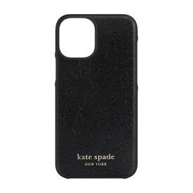 ケイト・スペード ニューヨーク kate spade new york iPhone 12 mini 5.4インチ対応 KSNY Wrap Case ブラック KSIPH-163-CHBLK