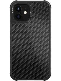 BLACKROCK ブラックロック iPhone 12 mini 5.4インチ対応 Robust Case Real Carbon ブラック 1120RRC02