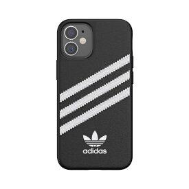アディダス adidas iPhone 12 mini 5.4インチ対応 OR Moulded Case SAMBA FW20 BK/WH 42229