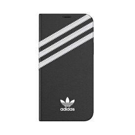 アディダス adidas iPhone 12/12 Pro 6.1インチ対応 OR Booklet Case SAMBA FW20 BK/WH 42245
