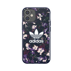 アディダス adidas iPhone 12 mini 5.4インチ対応 OR Snap Case Graphic AOP FW20 collegiate 42375