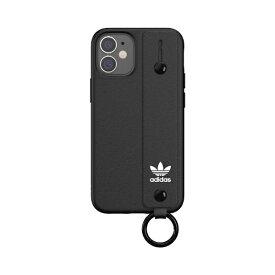 アディダス adidas iPhone 12 mini 5.4インチ対応 OR Hand Strap Case FW20 ブラック 42393