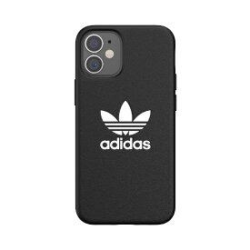 アディダス adidas iPhone 12 mini 5.4インチ対応 OR Moulded Case Trefoile FW20 BK/WH 42214