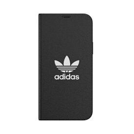 アディダス adidas iPhone 12/12 Pro 6.1インチ対応 OR Booklet Case Trefoile FW20 BK/WH 42227