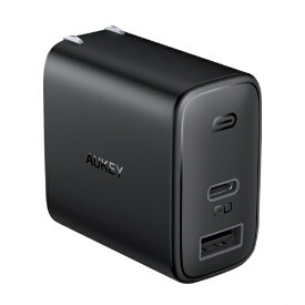 AUKEY オーキー AUKEY(オーキー) USB充電器 Swift Duo 32W [USB-A 1ポート/USB-C 1ポート] ブラック PA-F3S-BK [2ポート /USB Power Delivery対応]