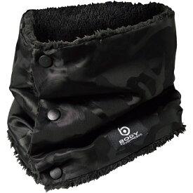 おたふく手袋 OTAFUKU GLOVE おたふく JW−117 BT 防風ネックウォーマー 迷彩−BK・ブラック JW-117-BK