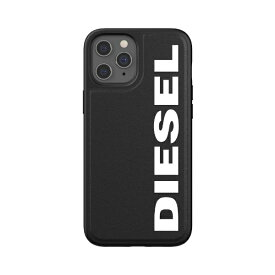 DIESEL ディーゼル iPhone 12 Pro Max 6.7インチ対応Moulded Case Core FW20 BK/WH 42493