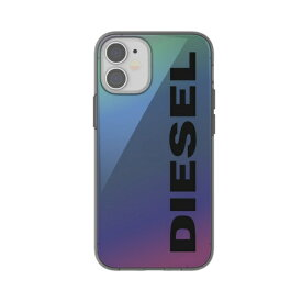 DIESEL ディーゼル iPhone 12 mini 5.4インチ対応 Snap Case Clear FW20 Holograph 42572