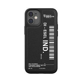 DIESEL ディーゼル iPhone 12 mini 5.4インチ対応 Moulded Case Core FW20 BK/WH2 42488
