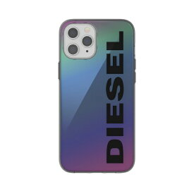 DIESEL ディーゼル iPhone 12 Pro Max 6.7インチ対応Snap Case Clear FW20 Holograph 42574