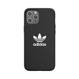 アディダス adidas iPhone 12 Pro Max 6.7インチ対応OR Moulded Case Trefoile FW20 BK/WH 42216
