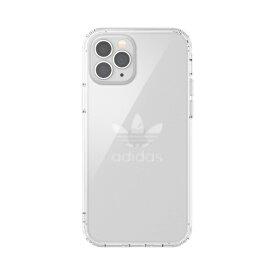 アディダス adidas iPhone 12/12 Pro 6.1インチ対応 OR Protective Clear Case FW20 クリア 42382