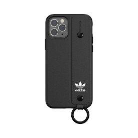アディダス adidas iPhone 12/12 Pro 6.1インチ対応 OR Hand Strap Case FW20 BK 42394