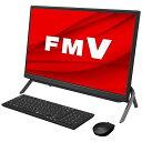 富士通 FUJITSU デスクトップパソコン ESPRIMO FH-G/E3 ブラック FMVFGE3B [23.8型 /AMD Ryzen7 /メモリ:16GB /SSD…