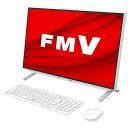 富士通 FUJITSU デスクトップパソコン ESPRIMO FH52/E3 ホワイト FMVF52E3W [23.8型 /intel Celeron /メモリ:4GB /S…