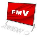 富士通 FUJITSU FMVF70E3W デスクトップパソコン ESPRIMO FH70/E3 ホワイト [23.8型 /SSD:512GB /メモリ:8GB /2020…