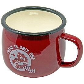 キャプテンスタッグ CAPTAIN STAG ミッキーマウス ディズニー ホーローマグカップ(容量約400mL) MA-1418