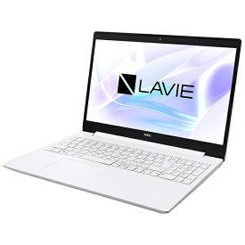 NEC エヌイーシー PC-NS70CRAW ノートパソコン LAVIE Note Standard カームホワイト [15.6型 /intel Core i7 /SSD:256GB /メモリ:8GB /2020年10月モデル]