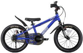 アイデス ides 16型 幼児用自転車 D-Bike Master+ ディーバイクマスタープラス(M・ブルー) 【3歳半以上向け】【組立商品につき返品不可】 【代金引換配送不可】