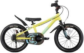 アイデス ides 16型 幼児用自転車 D-Bike Master+ ディーバイクマスタープラス(S・イエロー) 【3歳半以上向け】【組立商品につき返品不可】 【代金引換配送不可】