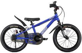 アイデス ides 18型 幼児用自転車 D-Bike Master+ ディーバイクマスタープラス(M・ブルー) 【4歳半以上向け】【組立商品につき返品不可】 【代金引換配送不可】