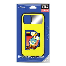 PGA iPhone 12 mini 5.4インチ対応 ハイブリッドタフケース ドナルドダック PG-DPT20F11DND ドナルドダック