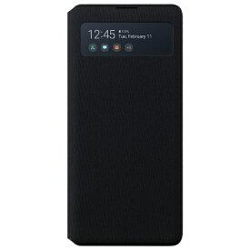 SAMSUNG サムスン 【サムスン純正】Galaxy A51 5G Smart S View Wallet Cover サムスン純正ケース ブラック EF-EA514PBEGJP