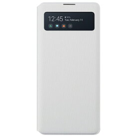 SAMSUNG サムスン 【サムスン純正】Galaxy A51 純正 S View Wallet Cover サムスン純正ケース ホワイト EF-EA514PWEGJP