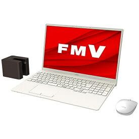 富士通 FUJITSU FMVT77E3WB ノートパソコン LIFEBOOK TH77/E3 アイボリーホワイト [15.6型 /intel Core i7 /Optane:32GB /SSD:512GB /メモリ:8GB /2020年冬モデル]【point_rb】