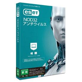 キヤノンITソリューションズ Canon IT Solutions ESET NOD32アンチウイルス 新規 1年1ライセンス [Win・Mac用]