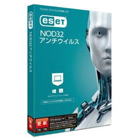 キヤノンITソリューションズ Canon IT Solutions ESET NOD32アンチウイルス 更新 1年1ライセンス [Win・Mac用]