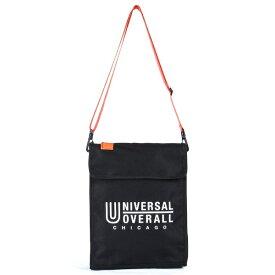 UNIVERSAL OVERALL PCショルダーバッグ(横幅33cm×縦幅26cm×マチ6cm/ブラック) UVO-035