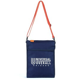 UNIVERSAL OVERALL PCショルダーバッグ(横幅33cm×縦幅26cm×マチ6cm/ネイビー) UVO-035