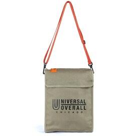 UNIVERSAL OVERALL PCショルダーバッグ(横幅33cm×縦幅26cm×マチ6cm/ベージュ) UVO-035