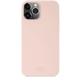 HOLDIT ホールディット iPhone12/12pro用 ソフトタッチシリコーンケース ブラッシュピンク Blush Pink